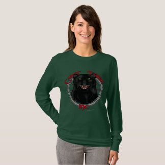 Can't Tame Leopard Ladies Long Sleeve Shirt