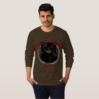 Can't Tame Leopard Men's Long Sleeve Shirt
