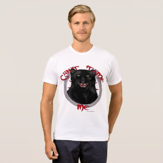 Can't Tame Leopard Men's Poly-Cotton T-Shirt