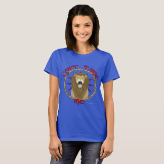 Can't Tame Lion Ladies T-Shirt