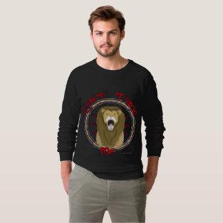 Can't Tame Lion Men's Raglan Sweatshirt