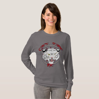 Can't Tame Tiger Ladies Long Sleeve Shirt