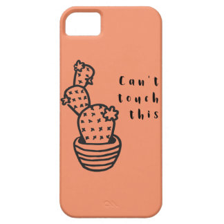 Cant Touch Cactus iPhone 5 Covers