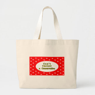 Can't TRUST a Conservative Red Stars The MUSEUM Za Canvas Bag