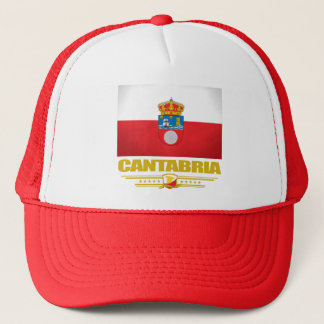Cantabria Flag Trucker Hat