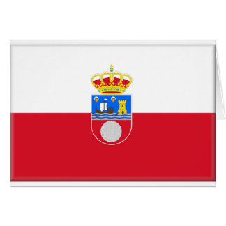 Cantabria (Spain) Flag Card