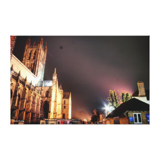 Canterbury Cathedral. Canvas Print