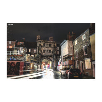 Canterbury Cathedral Entrance Canvas Print