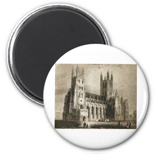 Canterbury Cathedral Refrigerator Magnets