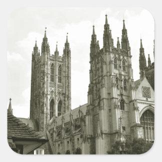 Canterbury Square Sticker