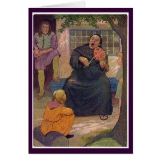 Canterbury Tales - Hubert the Friar Card