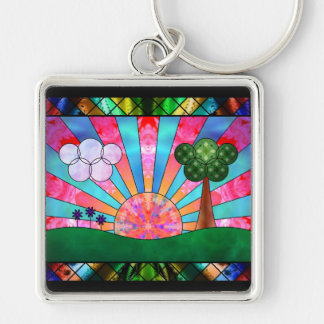 Canticle of the Sun Keychain