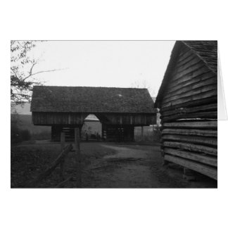 Cantilever Barn Card