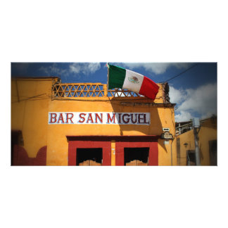 Cantina, San Miguel de Allende, Mexico, Photo Card