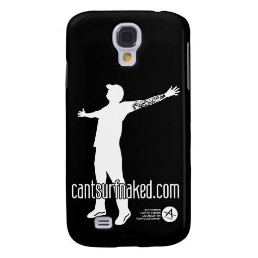 cantsurfnaked (White) Galaxy S4 Cover