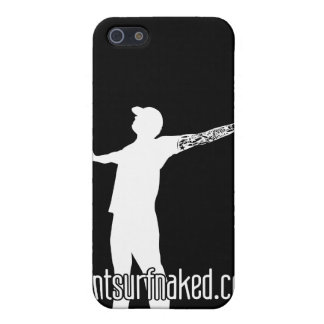 cantsurfnaked (White) Case For iPhone 5/5S