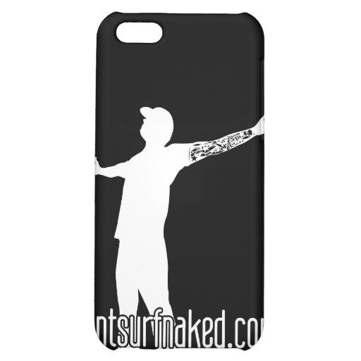 cantsurfnaked (White) iPhone 5C Case