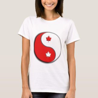 canuck yin yang T-Shirt