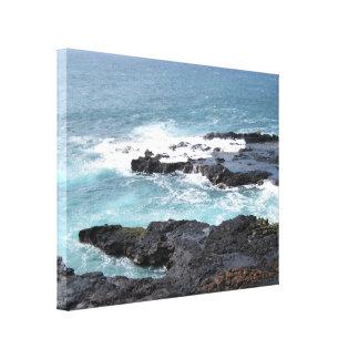 Canvas Art Ocean Scene Kauai