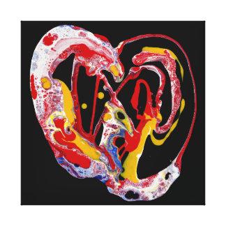 "Canvas Art Print - ""Crazy Heart"""