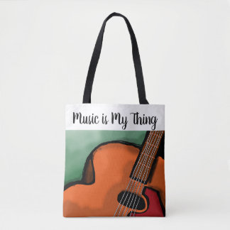 Canvas Bag for Music Lovers