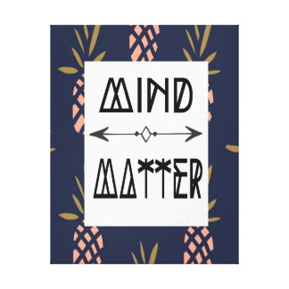 Canvas Home Decor - Mind over Matter Canvas Print