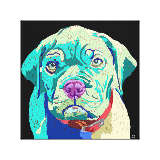 Canvas image of Dogue du Bordeaux