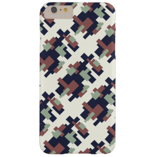 Canvas look phone cover