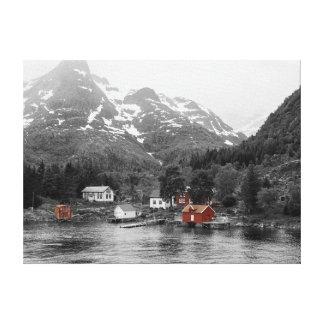 Canvas - Norway (Raftsund sew Trollfjord)