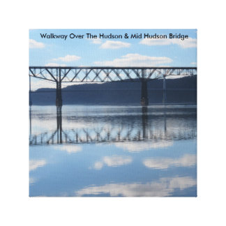 Canvas Photo Print Of Walkway Over The Hudson