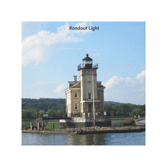 Canvas Photo Print Rondout Light