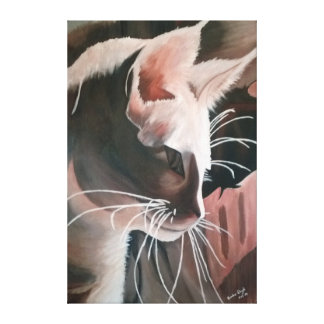 Canvas Print 24x36 CAT Org. Art 1st Release