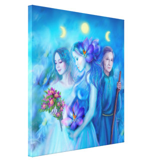 Canvas Print 3 goddess of destiny