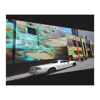 Canvas Print - Back Alley