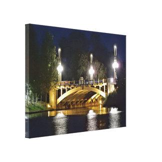 Canvas Print - Bridge over the River Torrens