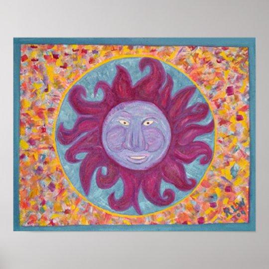 Canvas Print Carribean Sunshine