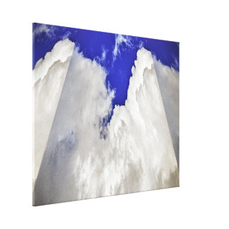 Canvas Print - Clouds in 3D