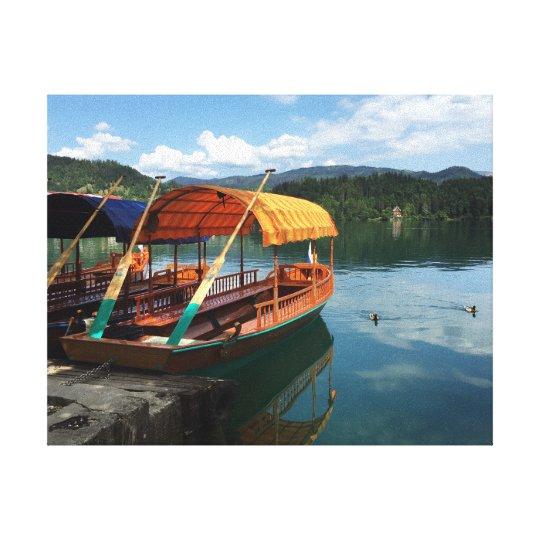 Canvas Print - Lake Bled, Slovenia