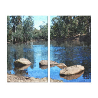Canvas Print - Lake Reflections