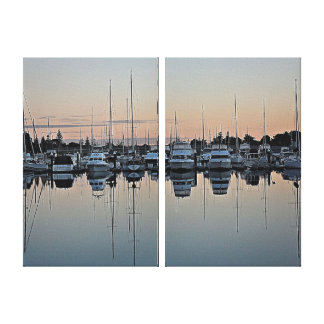 Canvas Print - Marina Sunrise