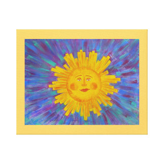 Canvas Print -MrFeel Good sunshine