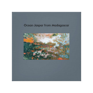 Canvas Print of Ocean Jasper