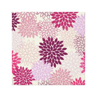 Canvas Print -- Pink & Purple Mums