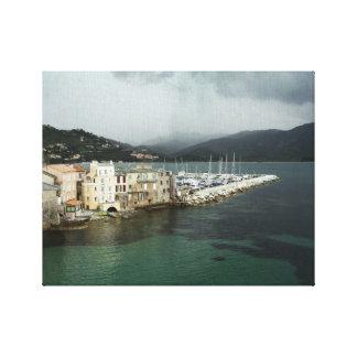 Canvas Print - Saint-Florent, Corsica