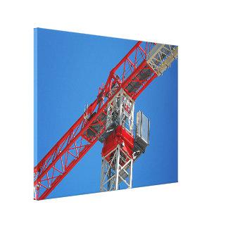 Canvas Print - Sky Crane