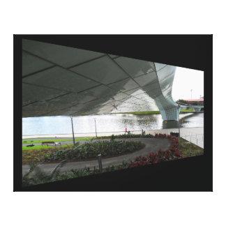 Canvas Print - Under the Bridge