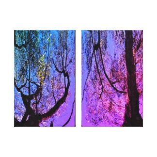 Canvas Print - Wacky Woods