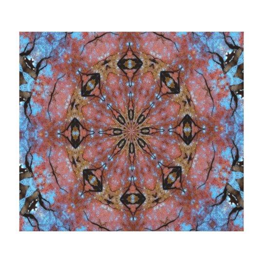 Canvas Print - Wheel of Eyes