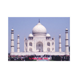 Canvas Prints taj mahal