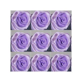 Canvas Rosa Viola
